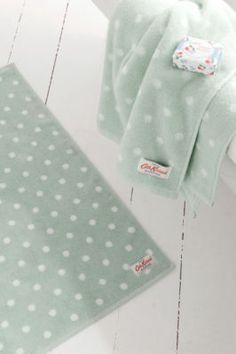 Duck egg towels, love love love!!