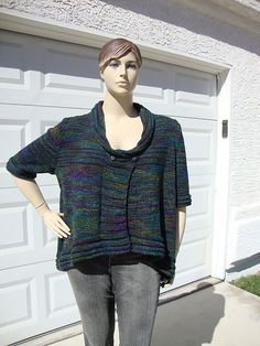 Ravelry: Windward A-Line Mullet pattern by Gail Knits