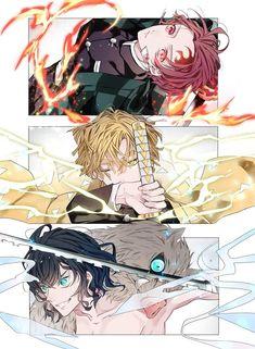 Demon Slayer: Kimetsu No Yaiba manga online Otaku Anime, Manga Anime, Anime Guys, Anime Art, Anime Angel, Anime Demon, Demon Slayer, Slayer Anime, Image Manga