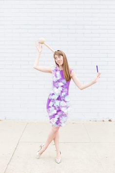 How To Make A Rock Candy Costume | studiodiy.com Halloween Motto, Easy Halloween Costumes, Halloween Make Up, Halloween Party, Homemade Halloween, Family Halloween, Halloween 2018, Diy Couples Costumes, Diy Costumes