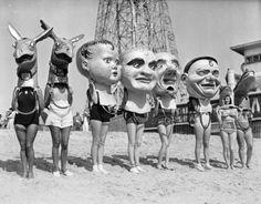 Coney Island Big Heads