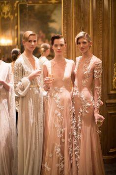 Nicholas Oakwell Couture SS13 - Image courtesy of www.helencathcart.com