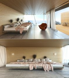 The sea-view bedroom ; V - Jakub Cech