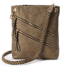 Apt. 9® Ava Braided Crossbody Bag