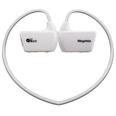 Megafeis E30 8GB Sports MP3 Player (White) Handsfree Wireless Headset Earphones Earbuds Headphones Portable Music Player Splash Proof Best Gift Present for Running Climbing Skiing Riding Boxing Sporting Christmas New Year Thanksgiving Day