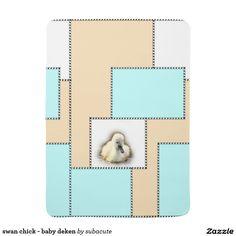 swan chick - baby deken