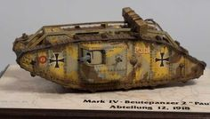 Mark IV - Beutepanzerwagen   by Ivo Čermák  scale: 1/35