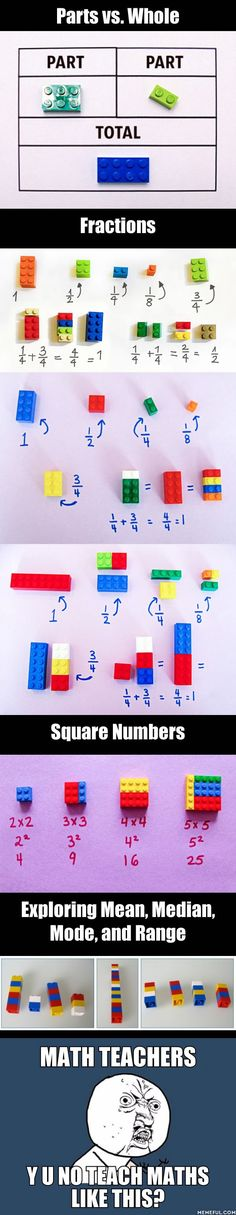 This is how all schools should teach Maths - using Legos