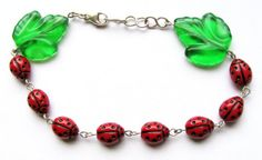 Ladybugs XIX by woodfairy on Etsy, $16.00