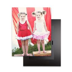 Big Photo: 16x20 Mounted Prints - Mounted Prints - Magnolia Press - White | Perfect #gift for #MothersDay at TinyPrints.com