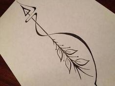 Image result for gemini arrow tattoo