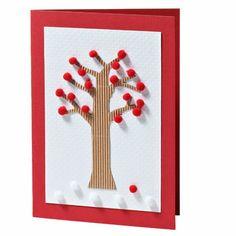 Pom Pom Tree Greetings Card | Craft Ideas & Inspirational Projects | Hobbycraft