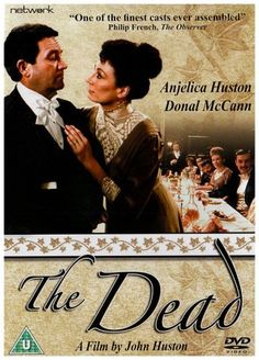 Heard this movie referenced, sounds interesting. Directed by John Huston.  With Anjelica Huston, Donal McCann, Dan O'Herlihy, Donal Donnelly. Gabriel Conroy and wife Greta attend a Christmas dinner with friends at the home of his spinster aunts, an evening which results in an epiphany for both of them.