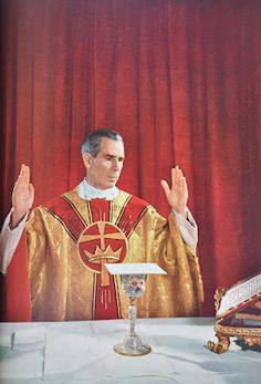 Servant of God Bishop Fulton Sheen - Ora Pro Nobis Catholic Bishops, Catholic Mass, Catholic Saints, Roman Catholic, Catholic Priest, Catholic Sacraments, Fulton Sheen, Gift Of Faith, Catholic Quotes