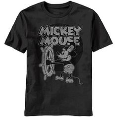 It was full steam ahead for Mickey after he first appeared in Disney's 1928 animated short film!