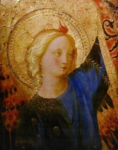 Fra Angelico (c1400-1455) Head of an Angel