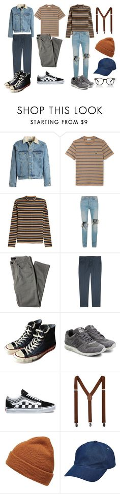 hehe by herdiansyah-baringbing on Polyvore featuring STELLA McCARTNEY, Lacoste, Paul Smith, Lords of Harlech, Topman, Fear of God, New Balance, Vans, Converse and Oliver Peoples