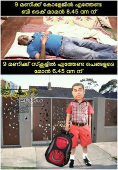 Malayalam Comedy, Malayalam Quotes, Funny Facts, Funny Quotes, Funny Troll, Lol, Thoughts, Memes, Laughing So Hard