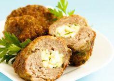 Sucettes de boulettes de viande et ananas