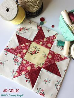Castles in the Air Block Tutorial | This classic star block never goes out of style!