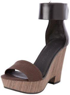 b5d663409 Amazon.com  See By Chloe Women s Ankle Strap Open-Toe Platform Wedge  Sandal