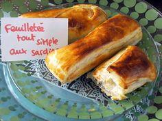 recette Bouchées feuilletées aux p'tites sardines pour vide placard !