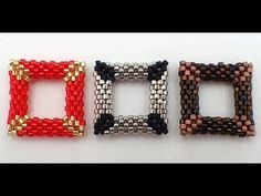 3D Peyote Square - YouTube