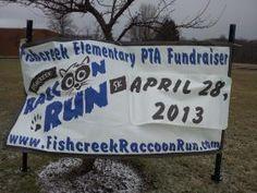 2nd Annual Raccoon Run for Stow's Fishcreek Elementary School