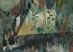 Katie Harnett narrative illustration portfolio
