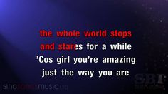 Just The Way You Are (Amazing) - Karaoke HD (In the style of Bruno Mars) With Vocals @@@@@