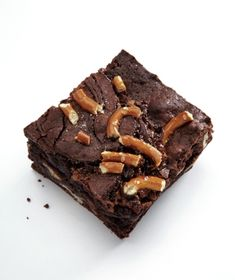 Toasted pecans, pretzel pieces, and caramel make this brownie extra decadent. Get the recipe for Pretzel Turtle Brownie.