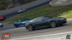 Forza Motorsport vs Forza Motorsport Ferrari Italia at Forza Motorsport 3, Xbox 360 Games, Game Design, Design Art, Graphic Design, Digital Illustration, Microsoft, Super Cars, Videogames