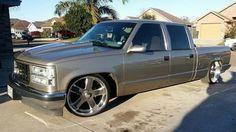 Custom Chevy Trucks, Chevy Pickup Trucks, Gm Trucks, Chevrolet Trucks, Cool Trucks, Custom Cars, 1998 Chevy Silverado, Chevy Stepside, Chevy Pickups