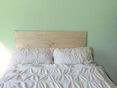 Soft green bedroom