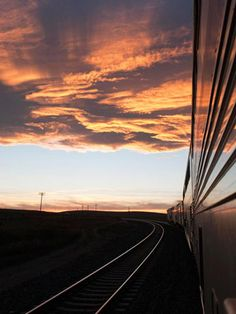 Here's a trip I want to take: Empire Builder train from Chicago to Seattle.  It blends my midwest and northwest loves...
