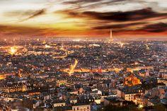Paris nightscape by Jérôme SALORT on 500px