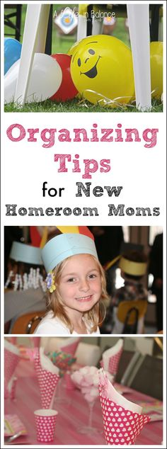Organizing Tips for New Homeroom Moms and Room Parents