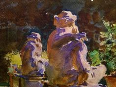 SPECTACULAR COLOR/ LIGHT/SHADOW John Singer Sargent Watercolors at Brooklyn Museum April 5–July 28, 2013