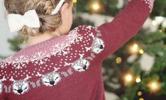 Christmas Sweaters, Christmas Ornaments, Knitting Patterns, Holiday Decor, Fashion, Threading, Moda, Knit Patterns, Fashion Styles