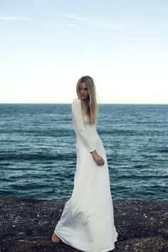 This dress could be a great wedding dress for a very unfussy and confident bride to be.