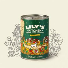 Christmas is coming! Why not spoil your furry friend with a delicious Lily's Kitchen Christmas Dinner for Dogs! Christmas Eve Dinner, Christmas Is Coming, Christmas Dog, Fresh Turkey, Coffee Cans, Green Beans, Dog Food Recipes, Lily, Snacks