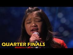 """Angelica Hale: 9-Year-Old Sings Incredible """"Clarity"""" Cover - America's Got Talent 2017 - YouTube"""
