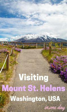 Visiting Mount St Helens National Volcanic Monument in Washington State? Read tips for visiting the best of the national monument in one day Oregon Travel, Travel Usa, Seattle, Places To Travel, Places To See, Voyage Usa, Nevada, Saint Helens, Utah