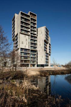 C.F. Møller Architects, Torben Eskerod · Campus Hall in Odense