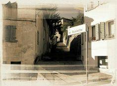 Belluno, scalette Borgo Pra'