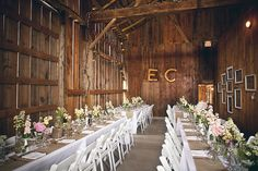 Photography: Red Button Photography - 66.7.201.210/~ericro/  Read More: http://www.stylemepretty.com/canada-weddings/2014/04/14/rustic-barn-wedding-2/