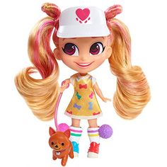 Doll HAIRDORABLES KAT N/' DOGS Surprise Doll Signature Look JUST PLAY