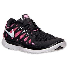 365928c2d6500 Nike Free 5.0 2014 Womens Black Metallic Silver Pink Glow 644446 001  cheap   nike