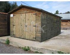 ΓΚΑΡΑΖ ΚΙΤ ΠΑΝΕΛ 280x480εκ.   Τιμή: 995,00€ Wooden House, Shed, Outdoor Structures, Barns, Sheds