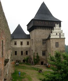 Lipnice nad Sázavou castle (Bohemian-Moravian Highland), Czechia